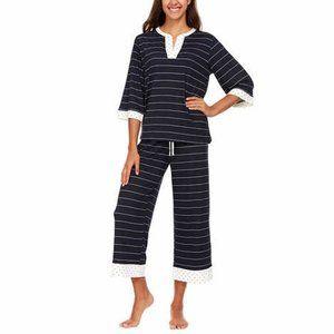 Flora Nikrooz Ladies' Crop Pant PJ Set